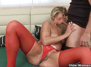 Cumshot,mature,milf,old amp,young,granny