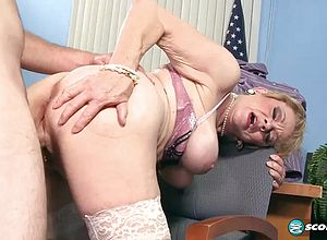 Blonde,milf,matures,office,hardcore