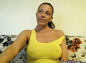 Amateur,big Boobs,brunette,milf,solo,webcam