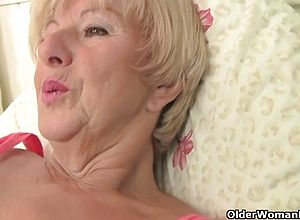 Fingering,shaved,granny,hardcore,old Young,blonde,big Tits,fetish