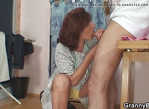 Granny,matures,old Young,riding,big cock