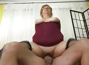 Milf,granny,chubby,blonde,big Cock,blowjobs,missionary,lingerie,riding,cowgirl,doggy style,cumshot,facials,amateur