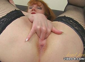 large Ass,big Tits,masturbation,mature,stockings,redhead