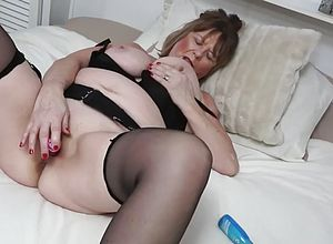 Amateur,masturbation,solo,big Tits,matures,british,chubby