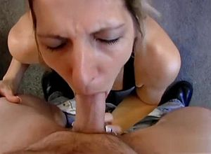 straight,blowjob,mature,facial,swallow,blonde,deep facehole