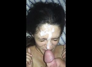 Amateur,big Boobs,blowjob,brunette,cumshot,facial,handjob,mature
